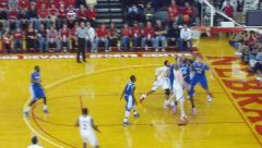 Ubel shooting vs Creighton