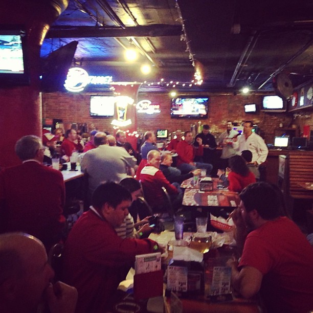2013-01-05 Miles at Husker Happy Hour