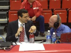 Tim Miles and Matt Davison