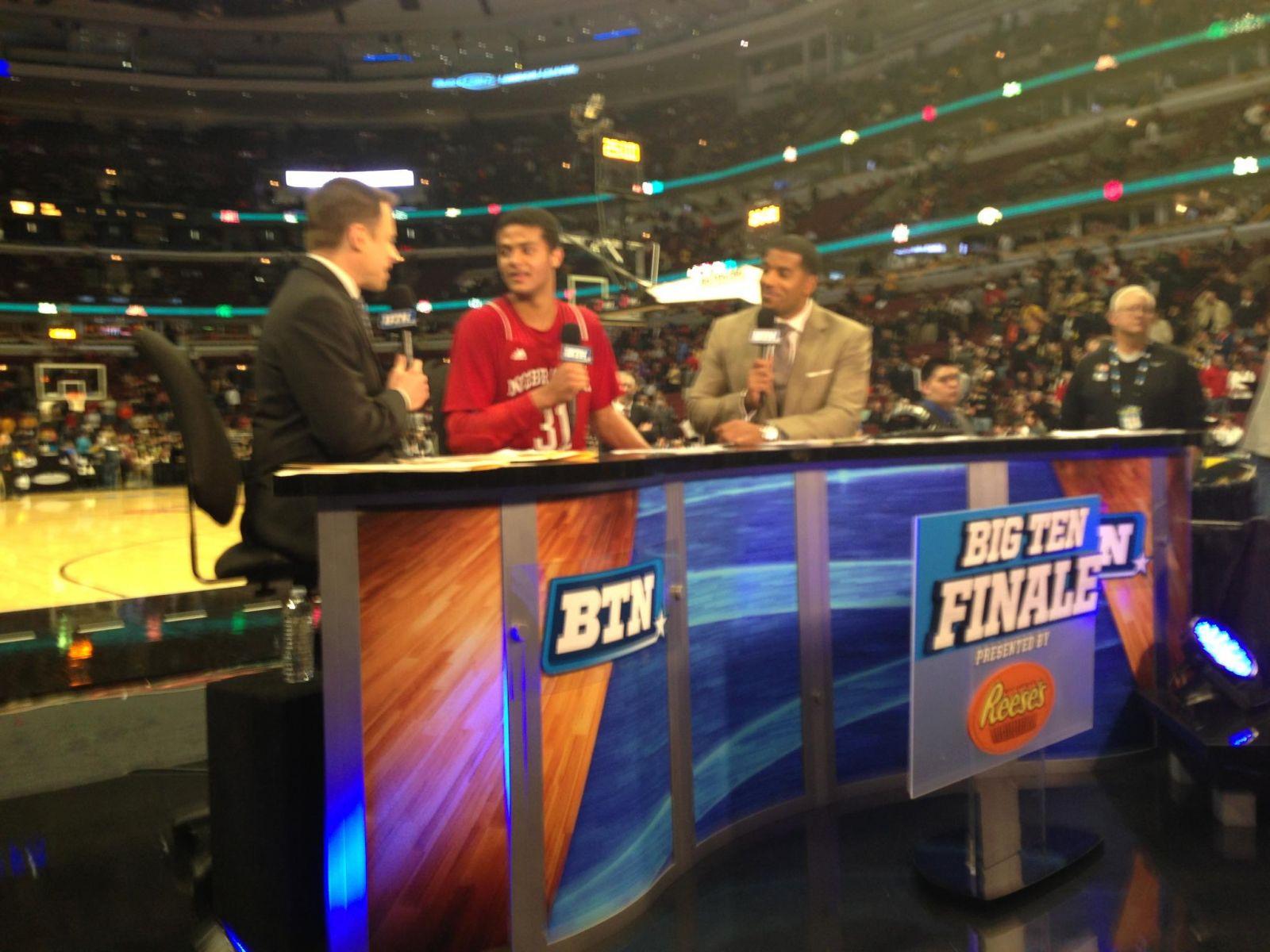 Shavon Shields interviewed after win over Purdue